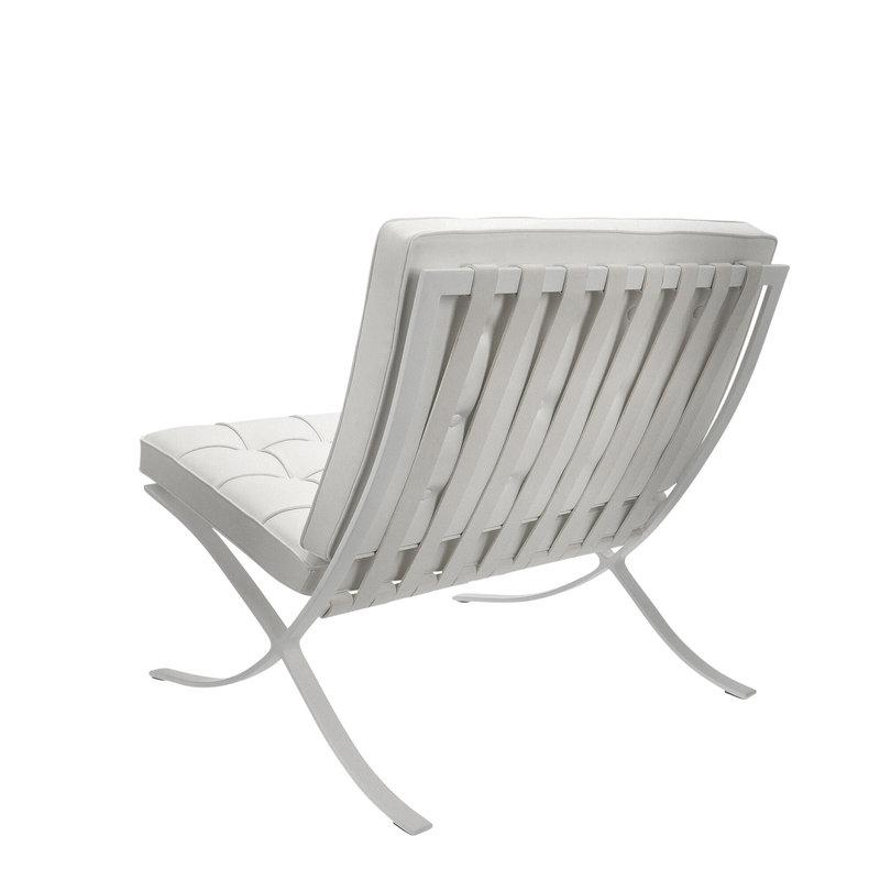 Barcelona chair Barcelona Chair Premium All-White