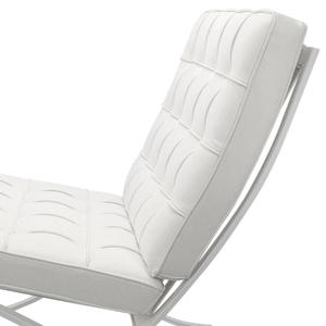Barcelona chair Barcelona Stol Premium All-White