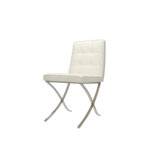Pavilion Dining Chairs Premium White - set of 2