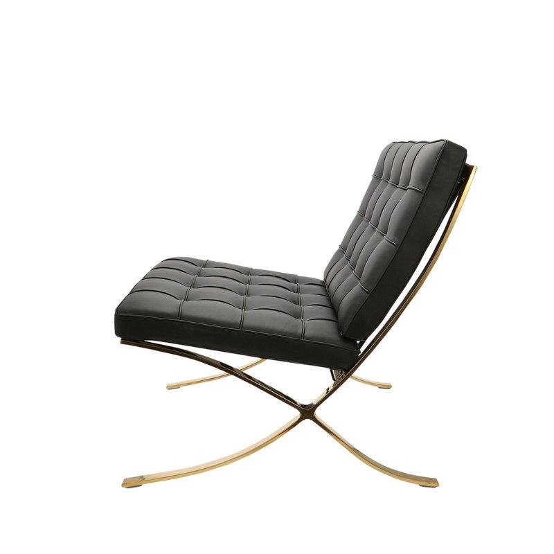 Pavilion chair Pavilion Fåtölj Premium Gold Edition Svart