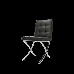 Chaise Pavilion Premium Noir (2x)