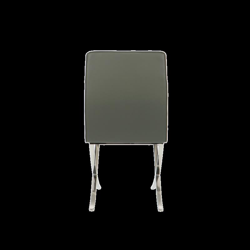Barcelona chair Barcelona Spisestole Premium Grau (2 x)