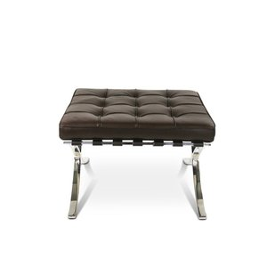 Pavilion chair Chaise Pavilion Ottoman Premium Marron