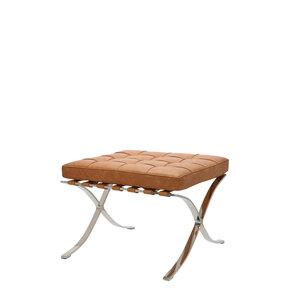 Pavilion chair Chaise Pavilion Ottoman Premium Vintage Cognac