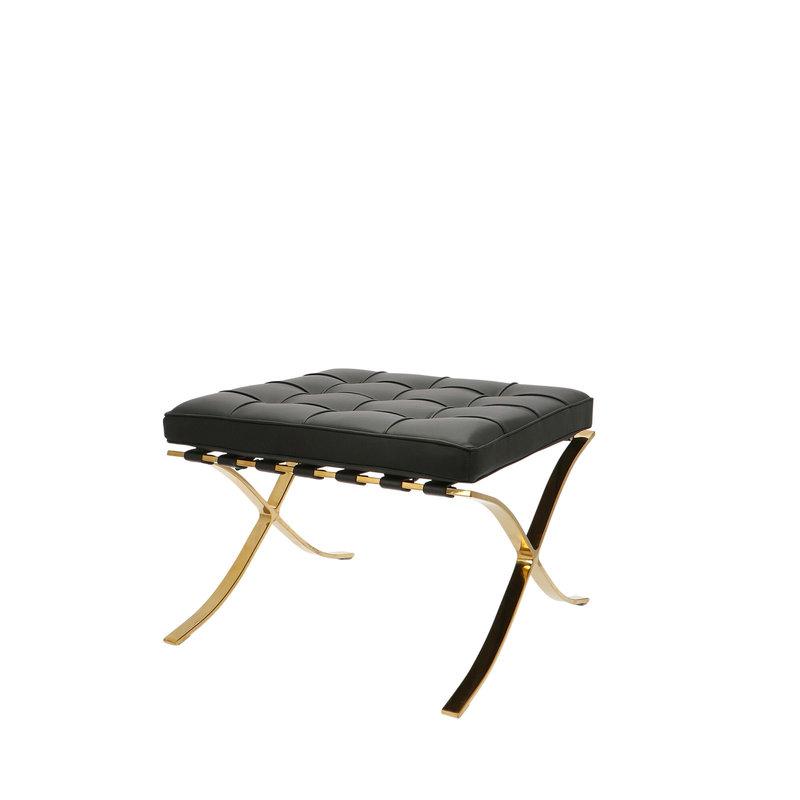 Pavilion chair Pavilion Fåtölj Ottoman Premium Gold Edition Svart