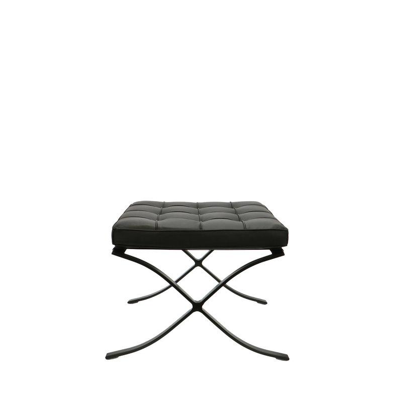 Pavilion chair Pavilion Chair Ottoman Premium All-Black