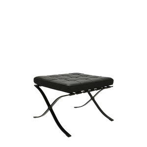 Pavilion chair Pavilion Chair Ottoman Premium All-Black