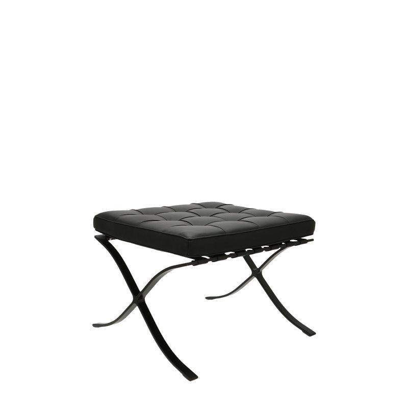 Pavilion chair Pavilion Fåtölj Ottoman Premium All-Black