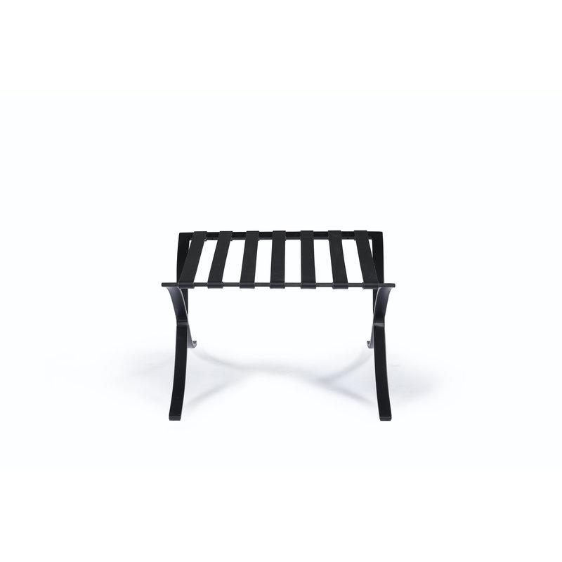 Pavilion chair Chaise Pavilion Ottoman Premium All-Black