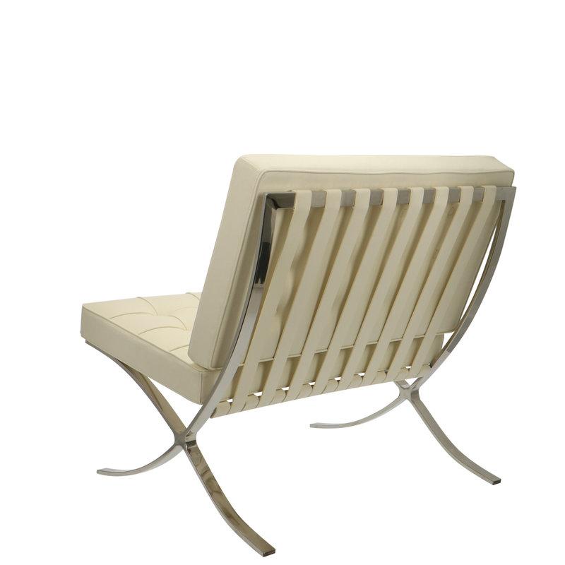 Pavilion chair Pavilion Chair Créme & Ottoman