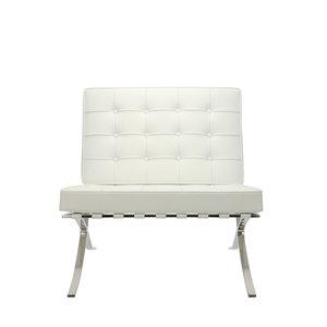Pavilion chair Chaise Pavilion Blanc & Ottoman