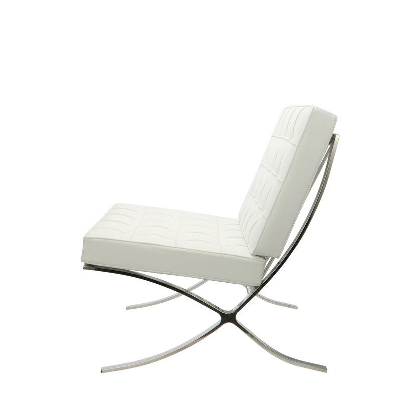 Pavilion chair Pavilion Stol Hvid & Ottoman