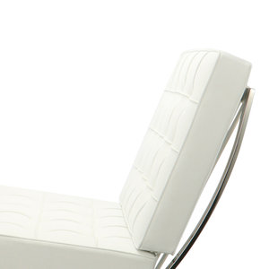Pavilion chair Pavilion Chair White & Ottoman