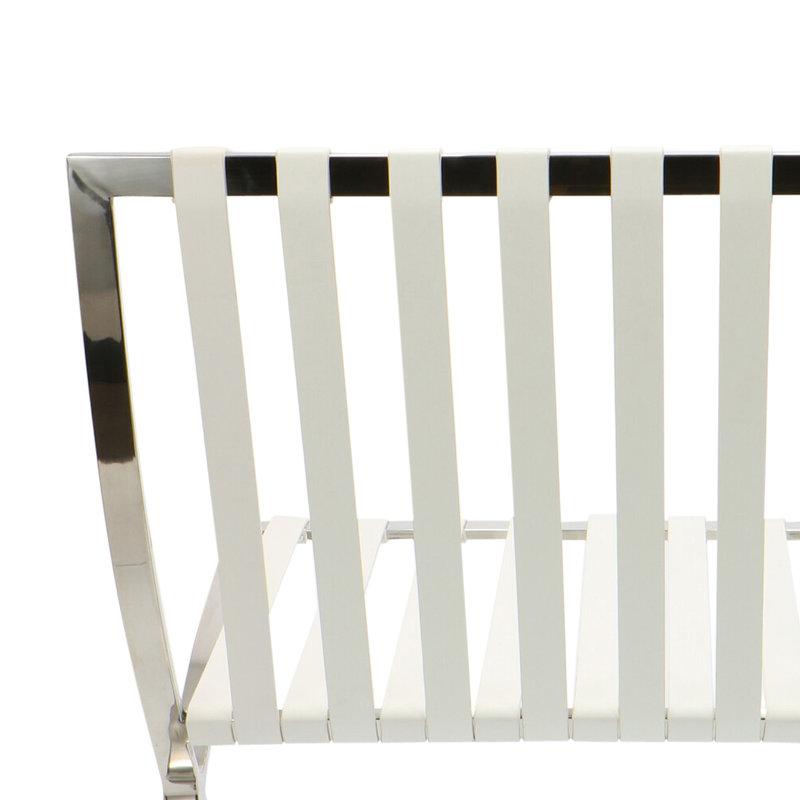 Pavilion chair Pavilion Chair Weiẞ & Ottoman