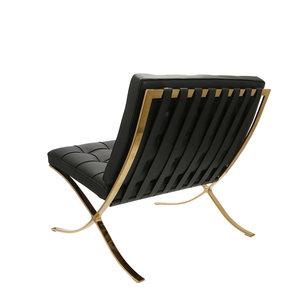 Pavilion chair Pavilion Fåtölj Premium Gold Edition Vit