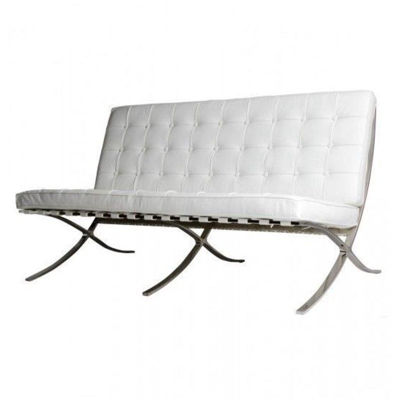 Pavilion chair Pavilion 2 Seater Premium White