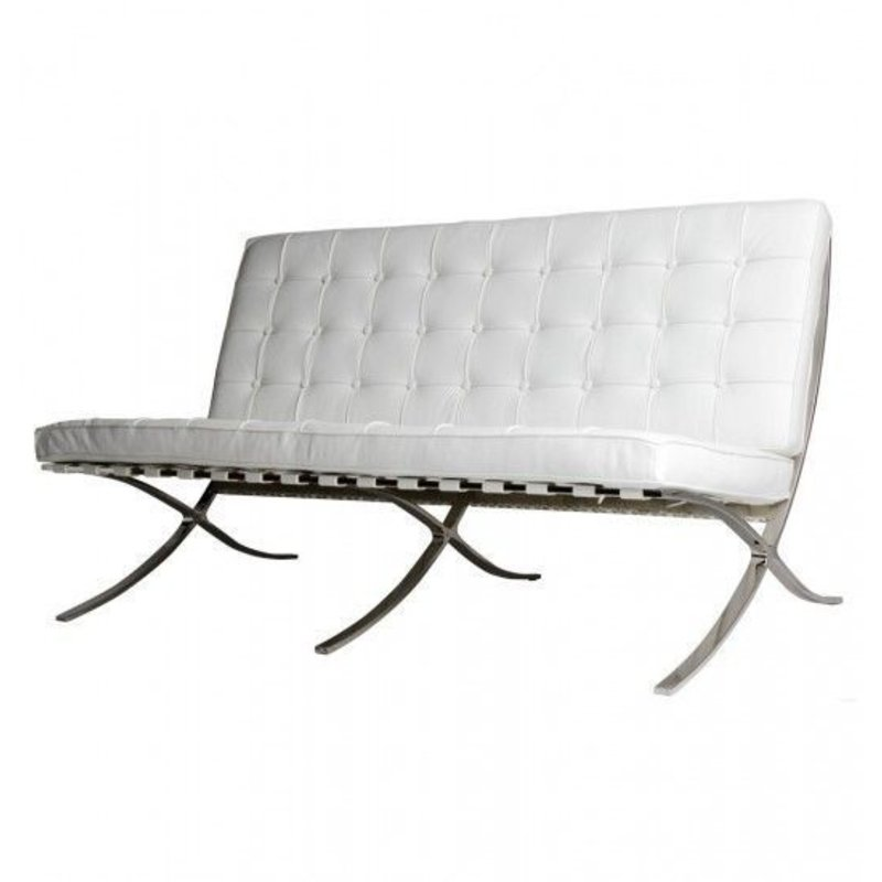 Pavilion chair Pavilion 2-Sitsar Premium Vit