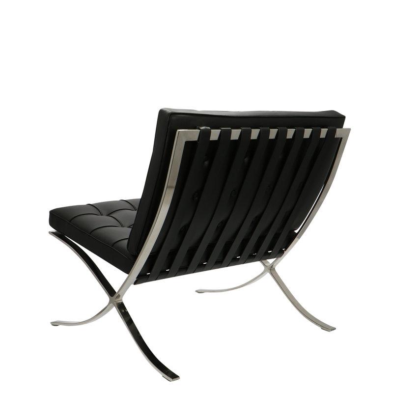 Pavilion chair Chaise Pavilion Premium Noir & Ottoman
