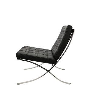 Pavilion chair Pavilion Fåtölj Premium Svart & Ottoman