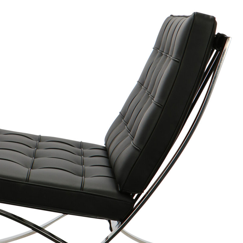 Pavilion chair Pavilion Chair Premium Schwarz & Ottoman