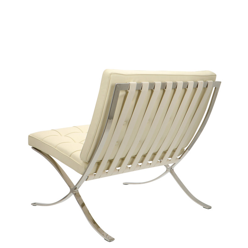 Pavilion chair Pavilion Fåtölj Premium Créme & Ottoman