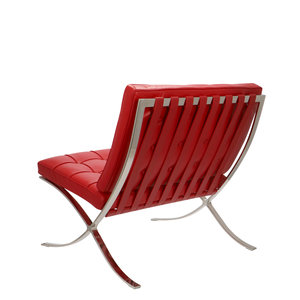 Pavilion chair Chaise Pavilion Premium Rouge & Ottoman
