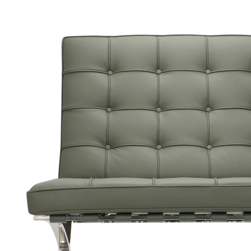 Pavilion chair Chaise Pavilion Premium Gris & Ottoman