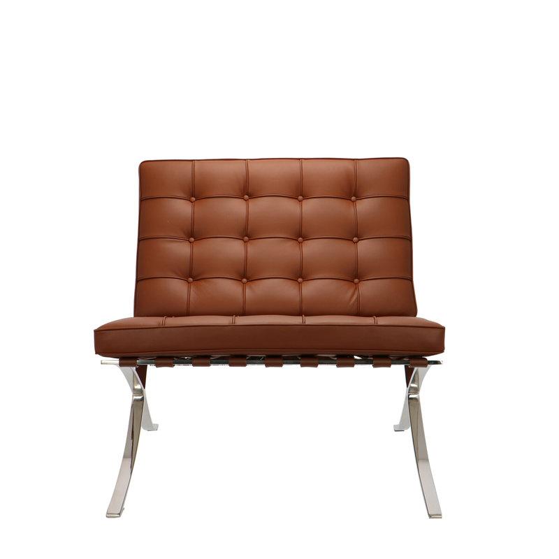 Pavilion chair Pavilion Chair Premium Cognac & Ottoman