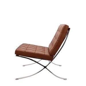 Pavilion chair Pavilion Stol Premium Cognac & Ottoman