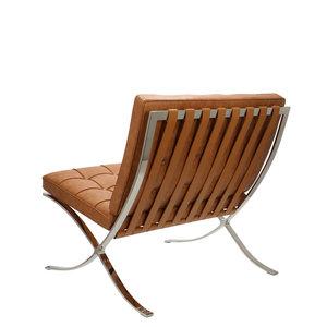 Pavilion chair Pavilion Fåtölj Premium Vintage Cognac & Ottoman