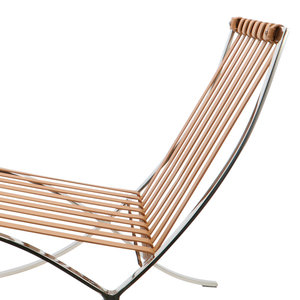 Pavilion chair Pavilion Chair Premium Vintage Cognac & Ottoman