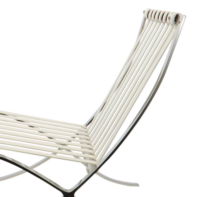 Pavilion chair Pavilion Chair Premium Weiẞ & Ottoman