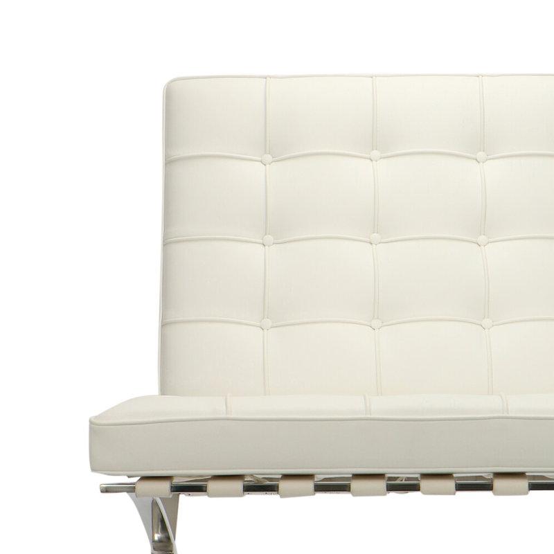 Pavilion chair Chaise Pavilion Premium Blanc & Ottoman
