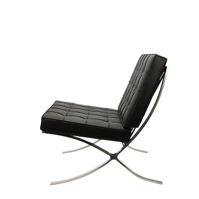 Pavilion chair Pavilion Chair Schwarz & Ottoman