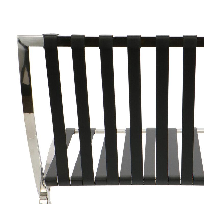 Pavilion chair Chaise Pavilion Noir & Ottoman