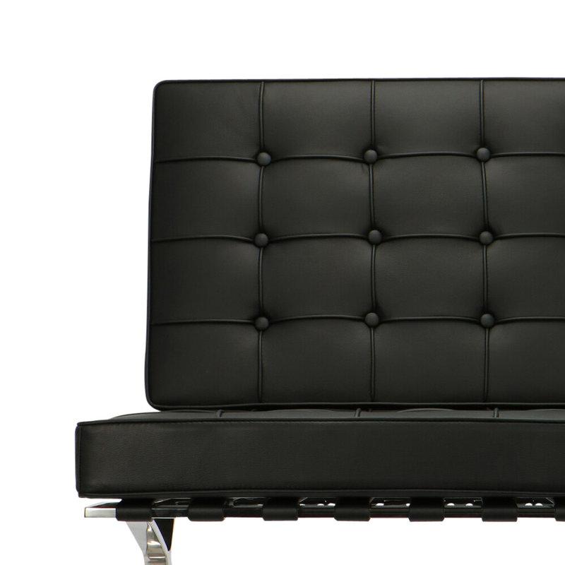 Pavilion chair Pavilion Chair Black & Ottoman