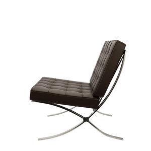 Pavilion chair Chaise Pavilion Marron & Ottoman