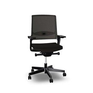 Interstuhl Movy netweave NPR-bureaustoel zwart