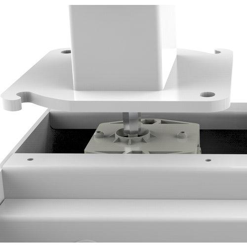 Flowork Home-stand Basic Wit zit sta bureau