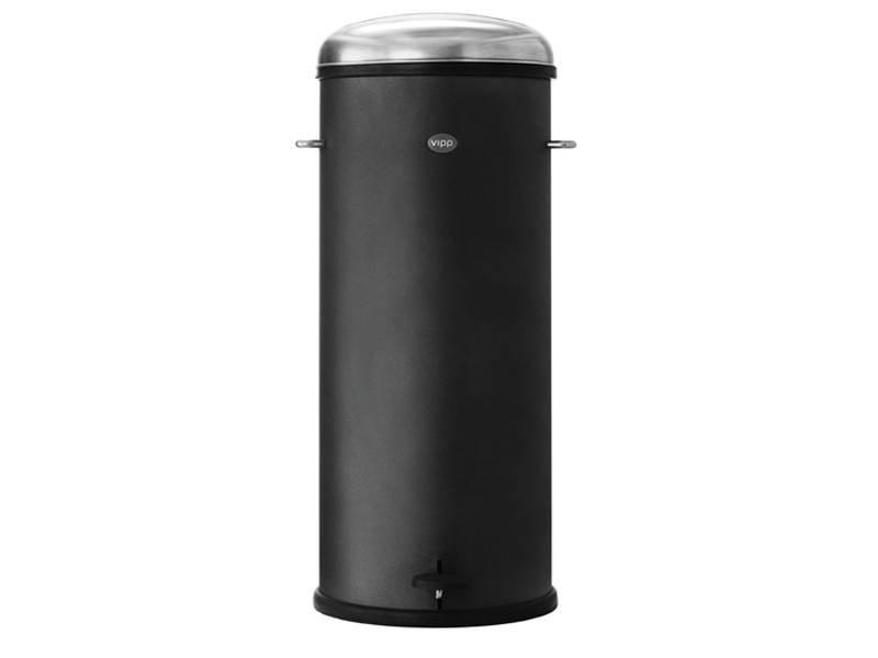 Vipp 17 Pedal Bin 30 liter Black