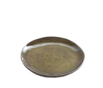Serax Pure Rond Bord Groen 20,5 cm