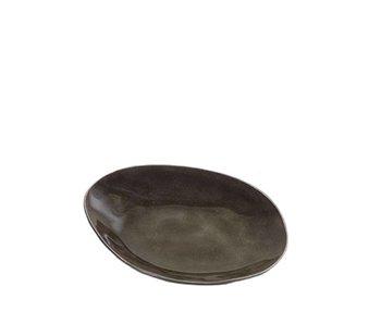 Serax Pure Ovaal Bordje Grijs 15 cm