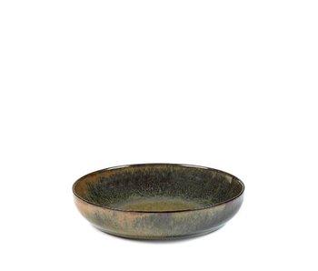 Serax Surface Diep Bord Indi Grey 19 cm