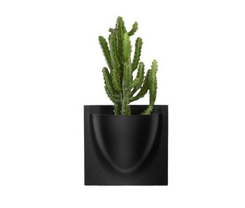 Vertiplants Wall Jar Black