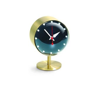 Vitra Night Clock Brass/Acrylic Glass