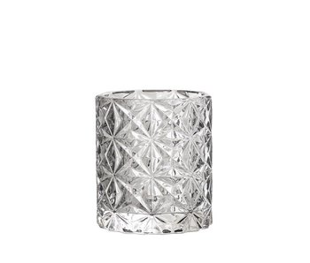 Bloomingville Votive Grey Glass