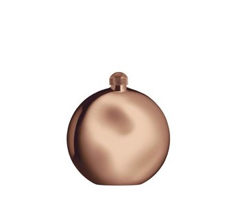 Alessi Shot Hip Flask Golden Pink