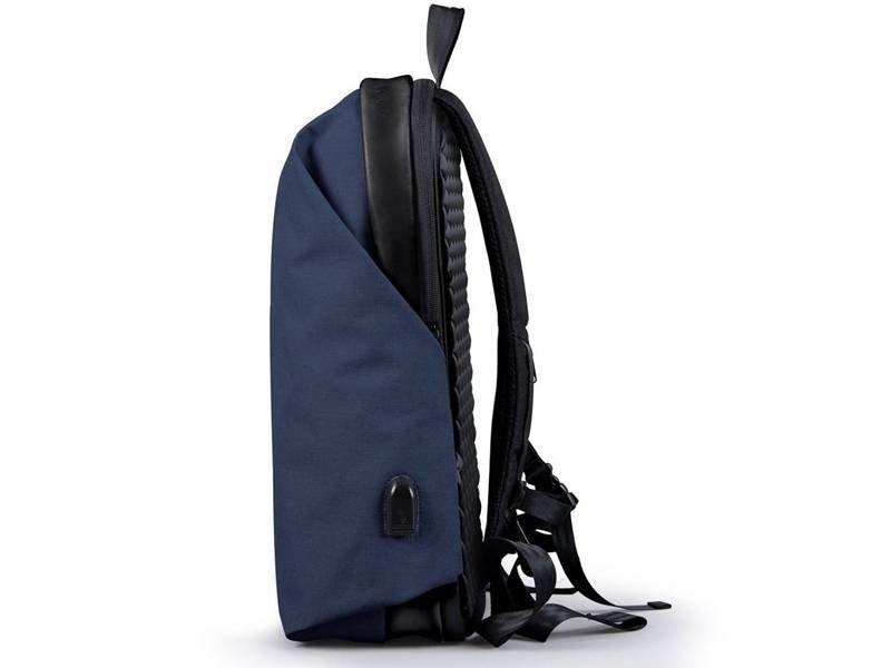 Wexley Urban Backpack Navy Blue/Black