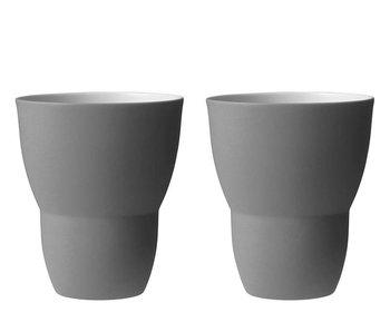 Vipp Tea Cup Grey 2 pcs.