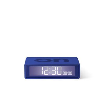Lexon Flip Travel Alarm Clock Blue